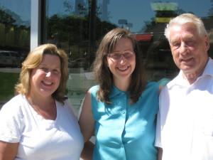 Vicki Bergstrom, Martha Kohn, Rich Lange