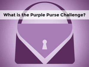 What is the Purple Purse Challenge?