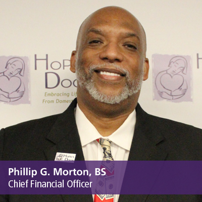 Phillip G. Morton, BS, Chief Financial Officer